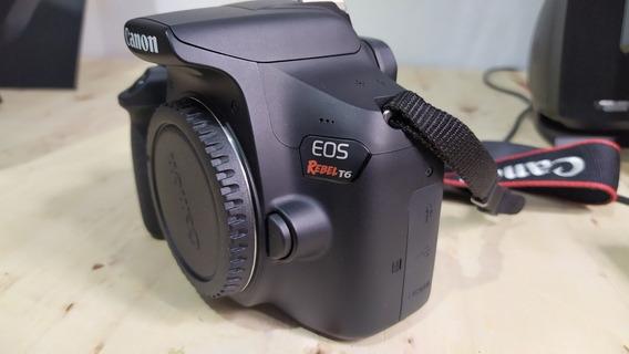 Canon Eos Rebel T6 (semi-nova)