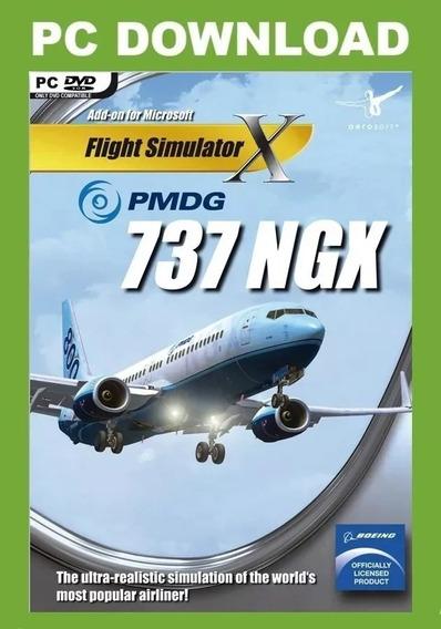 Fsx/p3d - Flight Simulator X Boeing 737 Pmdg + Manual Pt-br