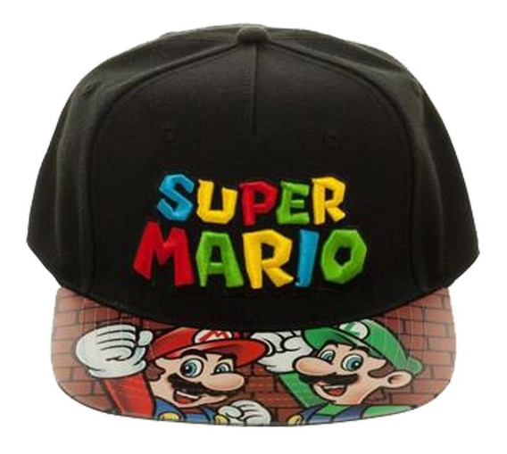 Gorra Super Mario Bros Ajustable Envío Express
