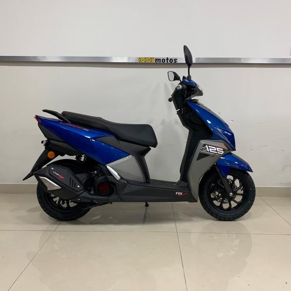 Scooter Tvs Ntorq 125 0km 40.000 + 12 Cuotas O 18 Cuotas