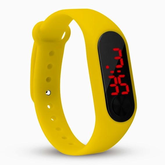 Reloj Led Touch Digital Pulsera Moda Unisex Barato Mayoreo