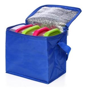 Bolso Térmico Cooler Termique 20x13x18 Cm Lunchera