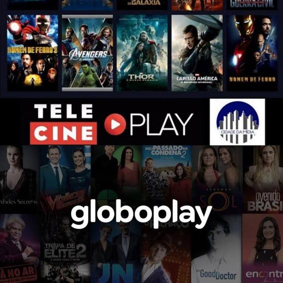 Telecine+globo.play.envio Imediato Via Chat!!!!