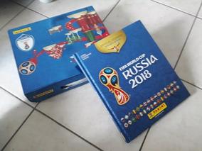 Álbum Da Copa Do Mundo 2018 De Capa Dura Completo