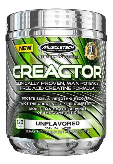 Creatina Hcl Muscletech Creactor 120 Servicios