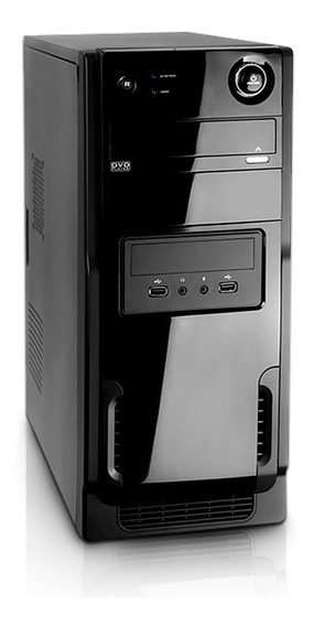 Cpu Torre Dual Core 4gb Hd 500gb Windows 7 + Adaptador Wifi.