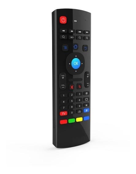 Controle Teclado Air Mouse Com Sensor De Movimento 2 In 1