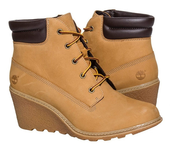 Botas Timberland Mujer Ocre Amston 6 Inch Boots Tb08251a231