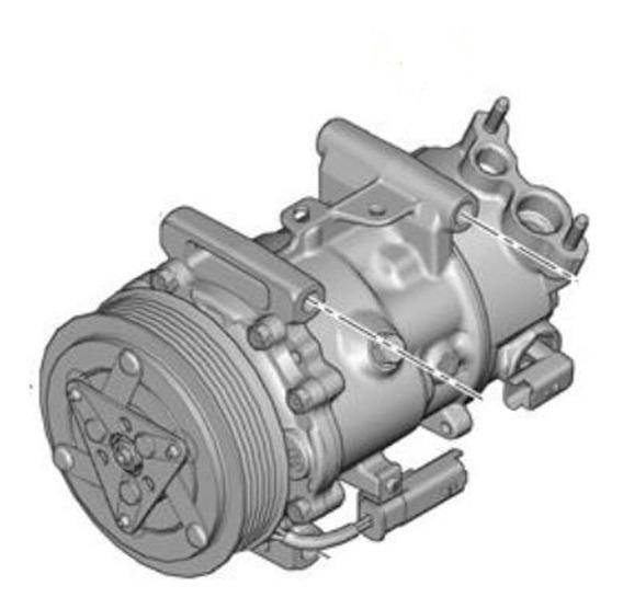 Compresor Aire Acondicionado Peugeot 207 1.6 Coupe 120cv