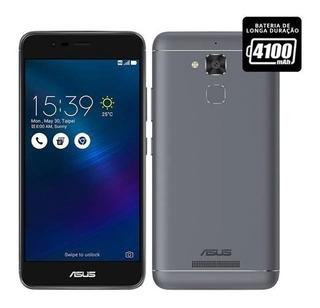 Smartphone Asus Zenfone 3 Max 16gb 2gb Cinza Semi Novo Vt2