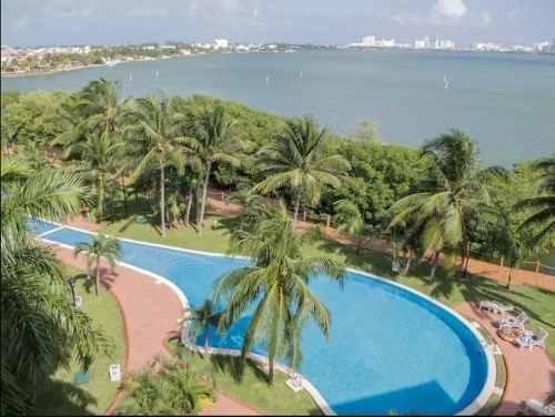 Renta Vacacional Cancún Zona Hotelería Para 6 Personas Máximo P2184