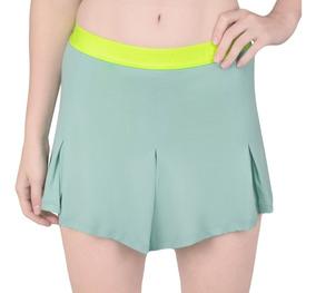 Saia Shorts Fila Soft Verde Água - Edição Rio Open