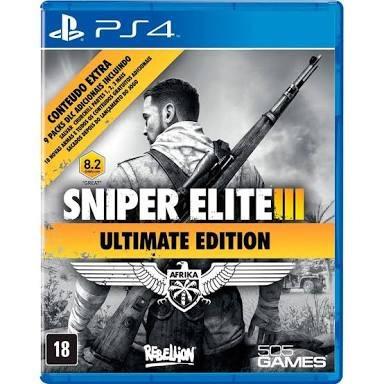 Sniper Elite 3, Jogo Semi Novo