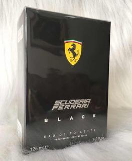 Perfume Ferrari Black Masculino Eau De Toilette 125ml