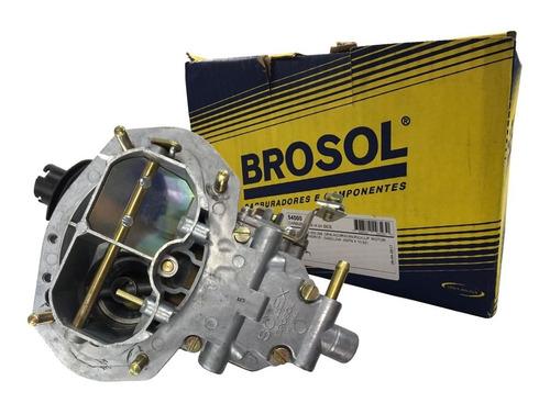 Imagem 1 de 5 de Carburador Brosol H34 Gasolina Opala 4cc 80 81 82 83 84 85
