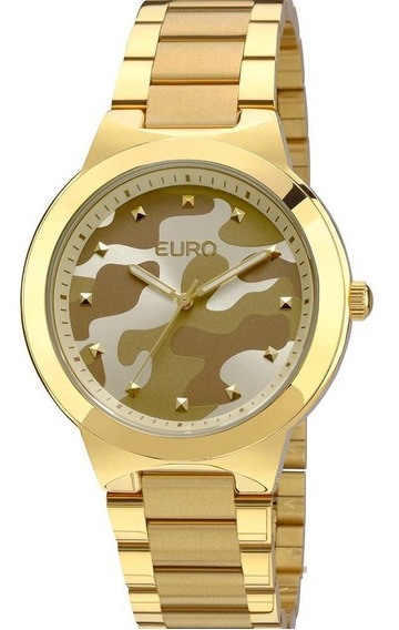 Relógio Euro Feminino Analógico Militar - Eu2035ybg/4m