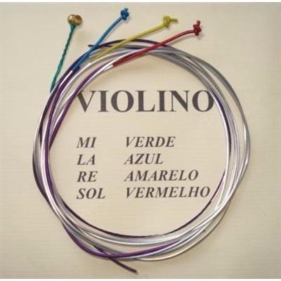 Corda Violino Mauro Calixto + Breu Para Violino