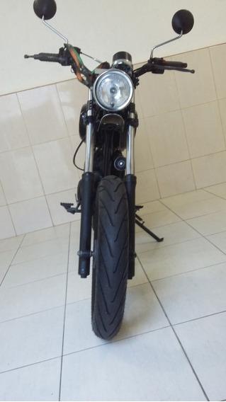 Yamaha Xtz Customizada Cafe Racer Scrambler