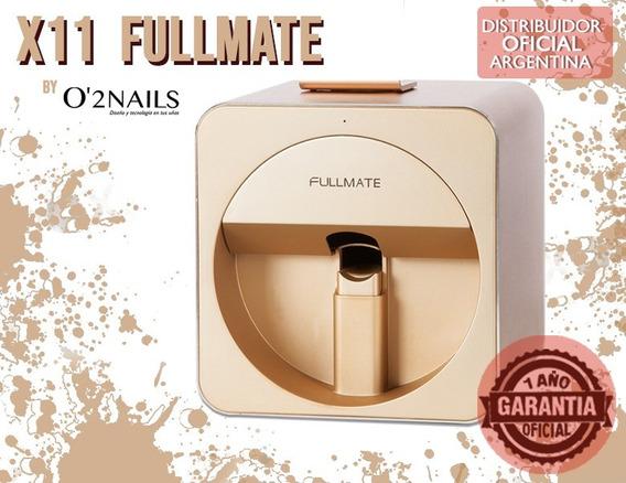 Impresora De Uñas Fullmate Golde +kit Comp+lamp Led+cartucho