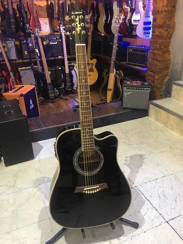 Guitarra Electroacustica Shelter Lf4123ceq