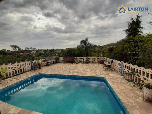 Chácara Com 3 Dormitórios À Venda, 980 M² Por R$ 550.000,00 - Vitória Régia - Atibaia/sp - Ch0586