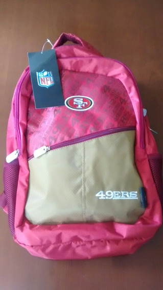 Nfl, 49ers Oficial, Original, Doble Cierre, Envio Gratis