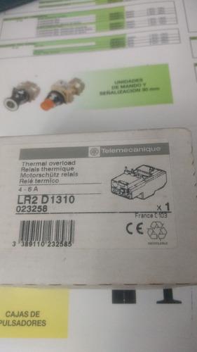 Relé Térmico Telemecanique Lr2 D1310 De 4-6 A