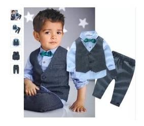 Conjunto Terno Social Cavalheiro Infantil Pronta Entrega