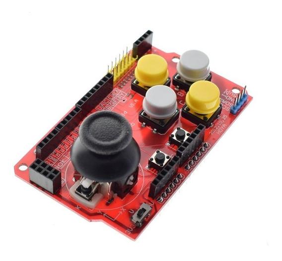 Joystick Escudo P/ Arduino Placa D Expansão Analóg