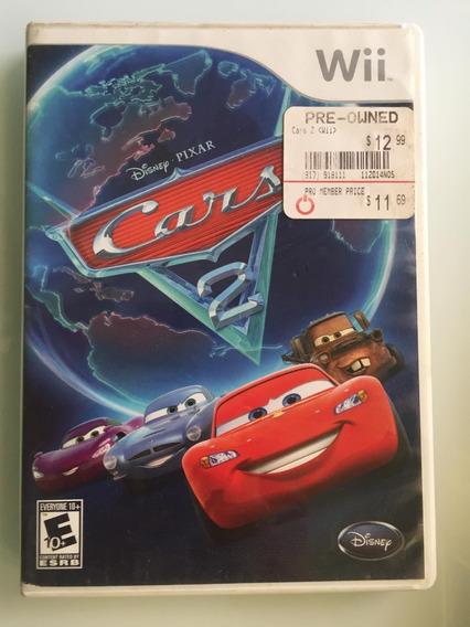 Jogo Cars 2 Nintendo Wii - Usado