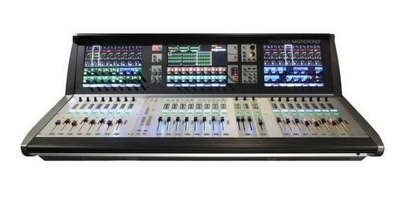 Mesa De Som Digital Soundcraft Vi 2000 Nf Garantia Vi2000