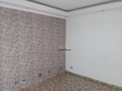 Imagem 1 de 12 de Apartamento Com 2 Dormitórios Para Alugar, 47 M² Por R$ 977/mês - Vila Rio De Janeiro - Guarulhos/sp - Ap0605