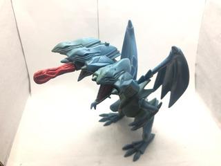 Increible Muñeco De Yu-gi-oh! Blue Eyes Ultimate Dragon!!