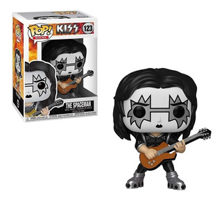 Funko Pop Kiss Spaceman Ace Frehley 123 Nuevo Original Stock