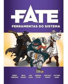 Livro Rpg - Fate Ferramentas Do Sistema - Em Português