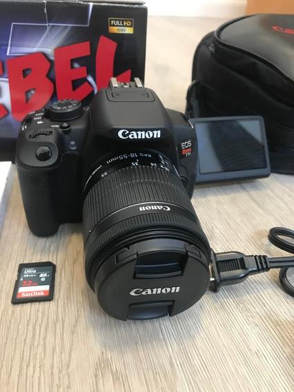 Câmera Eos Rebel T5i Kit Com Ef-s 18-55mm Is Stm