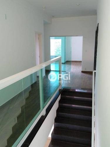 Imagem 1 de 30 de Casa Com 4 Dormitórios, 650 M² - Venda Por R$ 4.000.000,00 Ou Aluguel Por R$ 16.000,00/mês - Distrito De Bonfim Paulista - Ribeirão Preto/sp - Ca3063