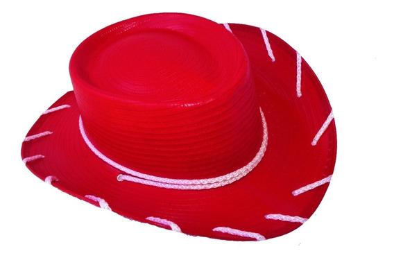 12 Sombrero Jessy Vaquerita Disfraz Toy Story Niña Woody
