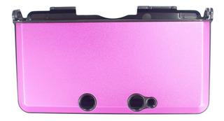 Estuche Carcasa Aluminio Nintendo 3ds (old) Fuscia