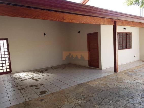 Casa Com 3 Dormitórios Para Alugar, 170 M² Por R$ 3.500,00/ano - Cidade Universitária - Campinas/sp - Ca0336