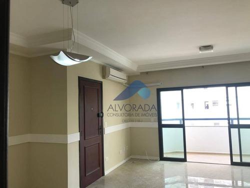 Imagem 1 de 11 de Apartamento Com 3 Dormitórios À Venda, 115 M² Por R$ 590.000,00 - Jardim Aquarius - São José Dos Campos/sp - Ap7594