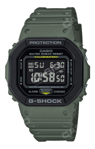 Reloj Casio G-shock Youth Dw-5610su-3 Serie Utility Color