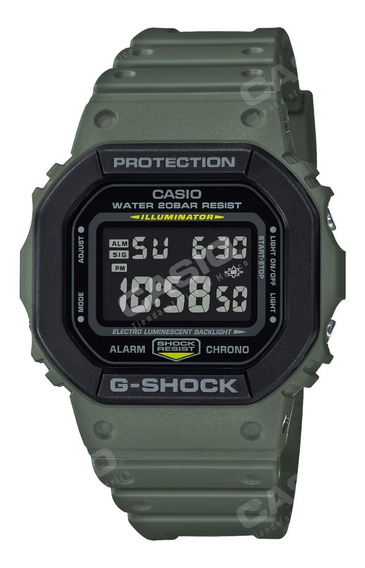 Reloj Casio G-shock Youth Dw-5610su-3 Serie Utility Color