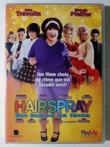 Dvd Hairspray Em Busca Da Fama John Travolta