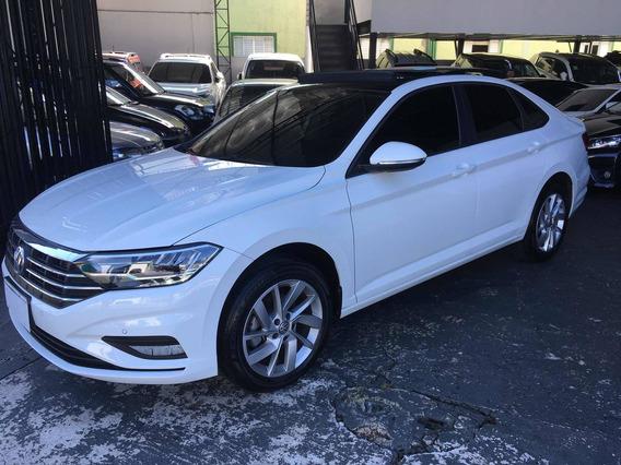 Volkswagen Jetta Confortline 1.4 Tsi 2019 Branco Com Teto