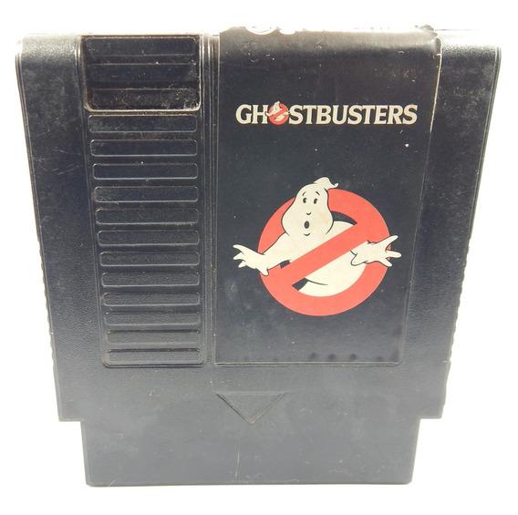 Cartucho Nintendo Ghost Busters 72 Pinos Original Gradiente