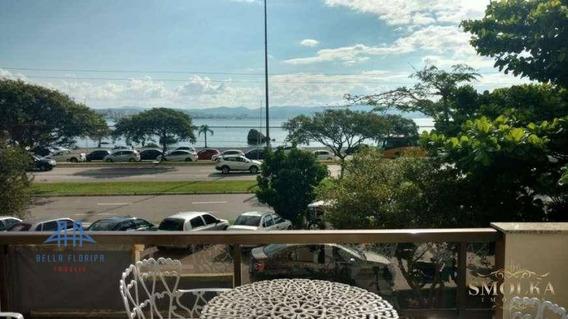 Apartamento Com 04 Dormitórios (todos Suítes), De Frente Para A Beira Mar Norte De Florianópolis Com 187m² Privativos. - Ap2721
