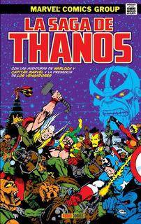 Omnigold La Saga De Thanos - Starlin - Panini
