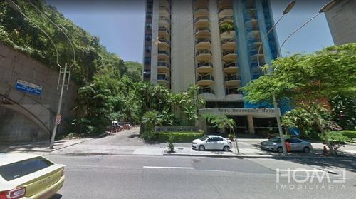 Imagem 1 de 4 de Flat Com 2 Dormitórios À Venda, 74 M² Por R$ 579.000,00 - Copacabana - Rio De Janeiro/rj - Fl0008
