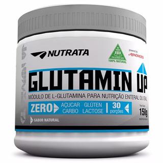 Glutamin Barato L-glutamina Glutamine Up Nutrata 150g Oferta